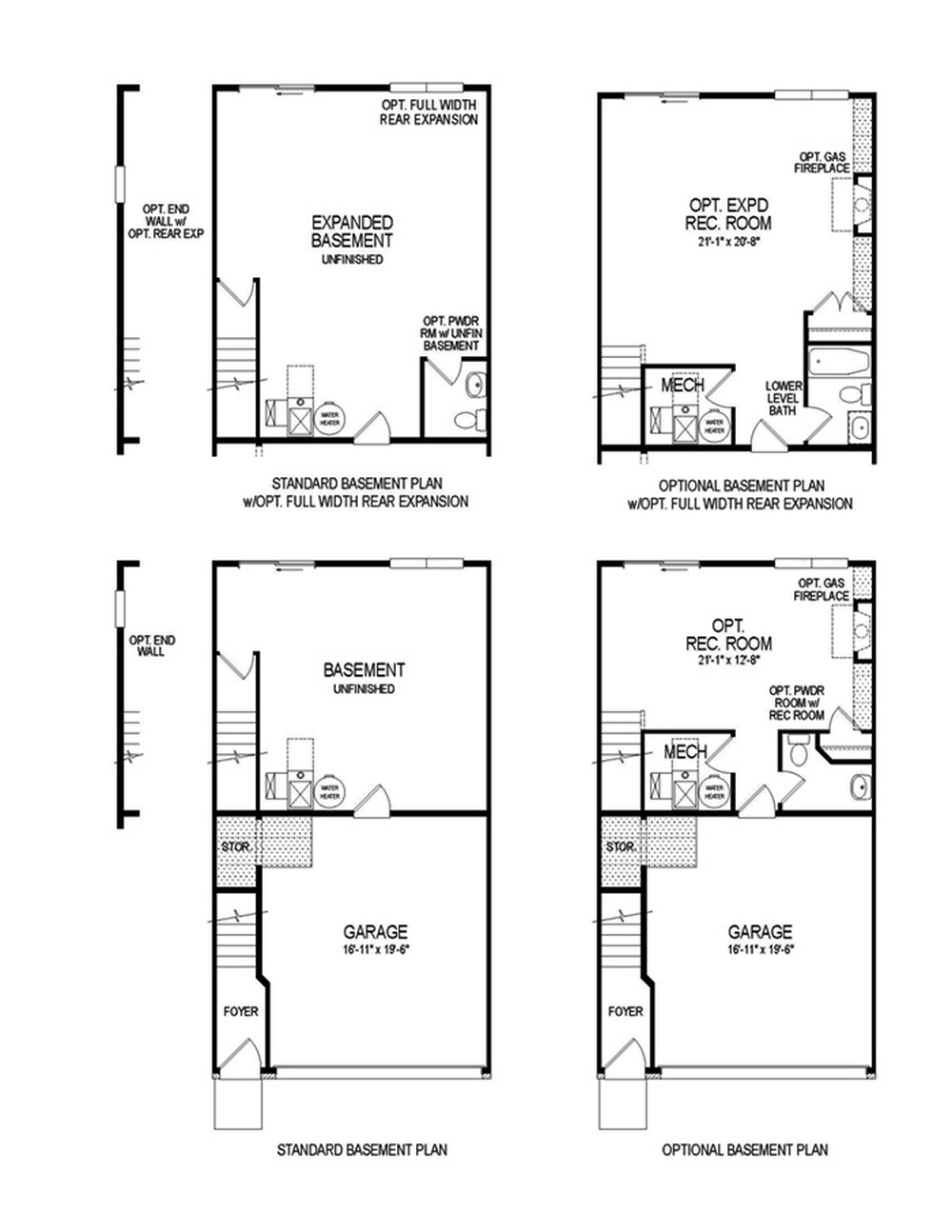 28 best floor plans umd floorplans from maryland for Modular homes with basement floor plans
